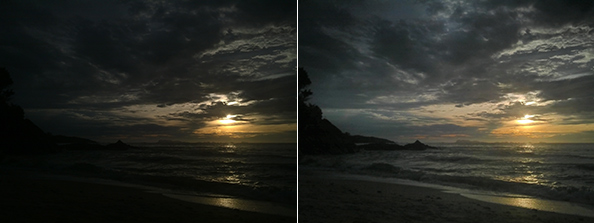 Almalence Dynamic Range Optimizer reveals details in highlights and shadows. Automatic processing within milliseconds.